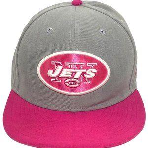 New Era NFL NY Jets Pink Breast Cancer Ball Cap